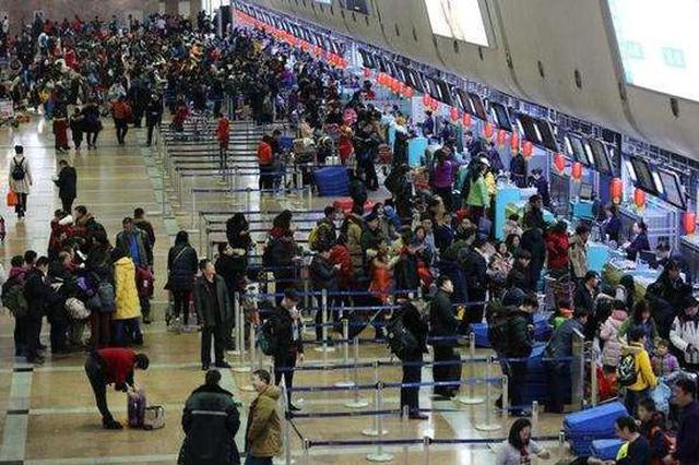 春运哈机场预计运客270万 部分机场巴士全天运营