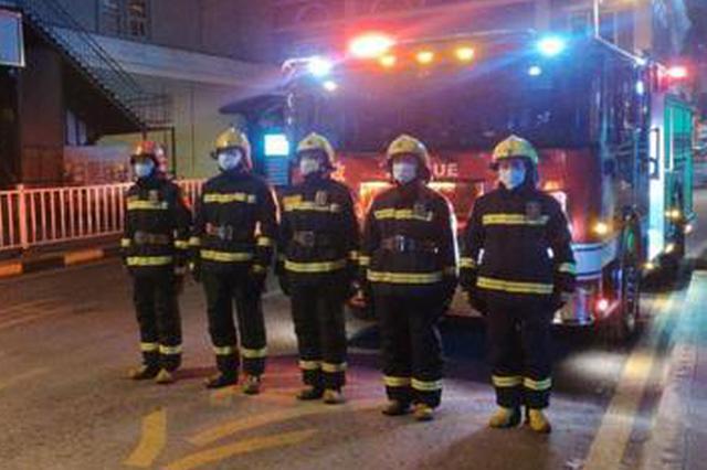 哈市除夕5起火情比去年少13起 消防人员终于能看春晚