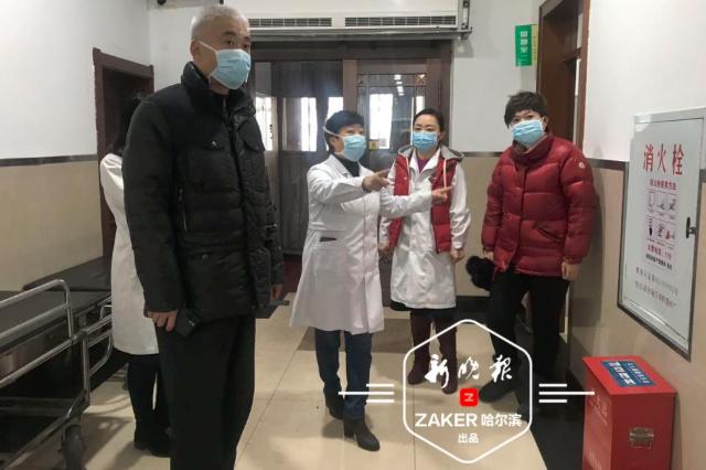 防控疫情 哈尔滨市红十字中心医院扩大发热门诊面积