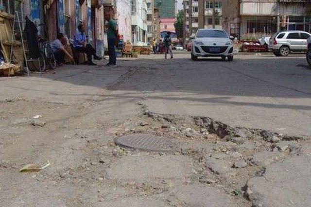 哈尔滨市春季道路维修发现破损请打12319