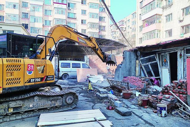 哈市20个改造片区内违建4月20日前拆完 7类违建重点拆除