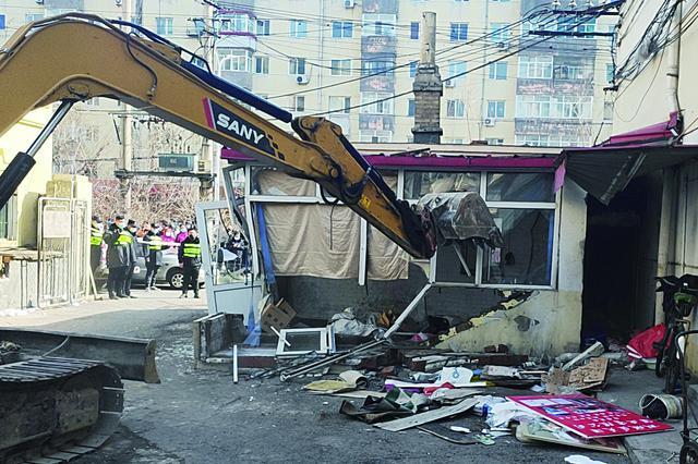 盼老旧小区改造 哈市香顺街4号院业主自己动手拆违