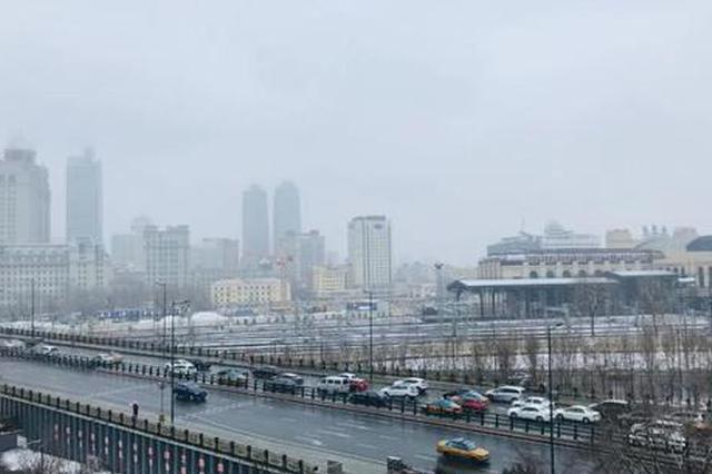 """雨夹雪 哈尔滨今日""""高冷"""" 明天最高温重回""""两位数"""