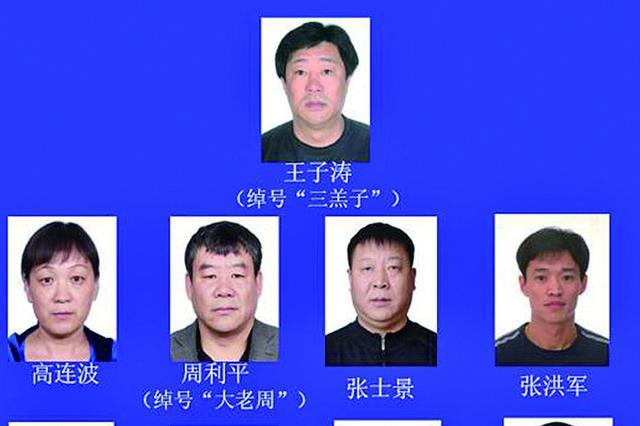 哈尔滨市警方征集王子涛黑恶势力团伙犯罪线索