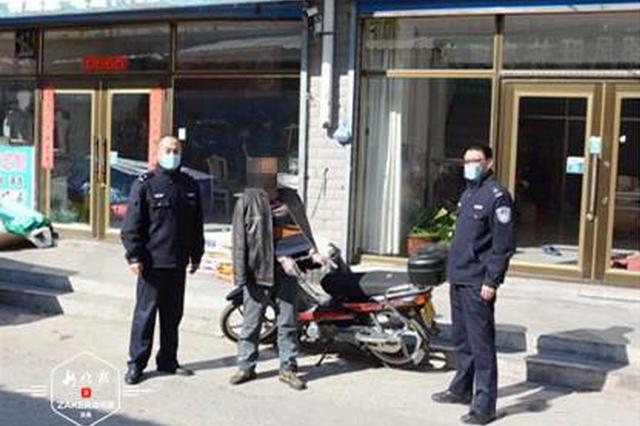 """刚出狱就流窜作案 偷的摩托车没等卖自己又""""进去""""了"""