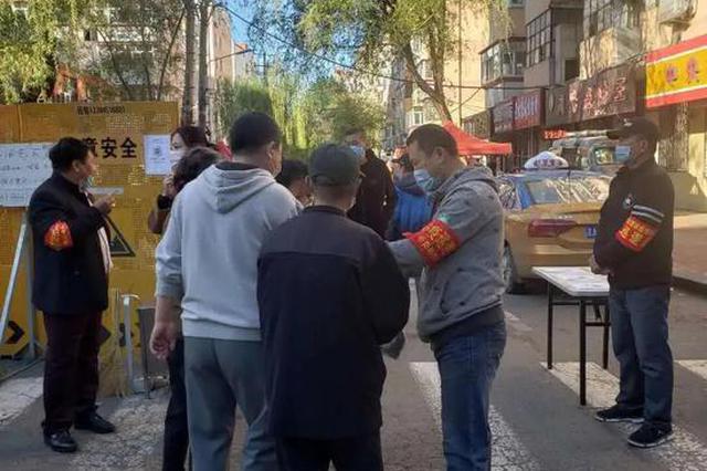 摊位至少间隔2米 哈尔滨道里区启动安平街早市复市