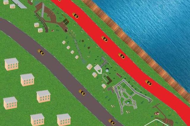 又一个风景宜人的公园要来了 尚志蚂蚁河西岸公园开工