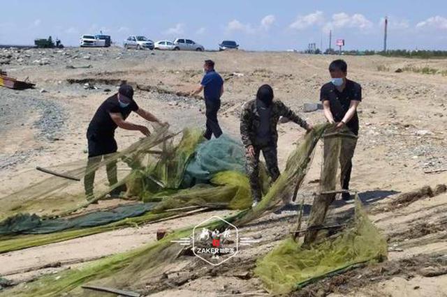 """""""硬核""""最长禁渔期 1.2万公斤渔获物被放归自然"""