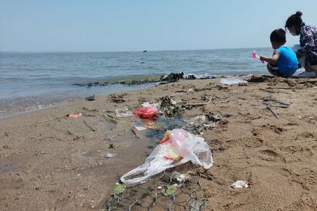 """请你手下留情 哈尔滨这个""""网红海""""垃圾成堆让人心痛"""