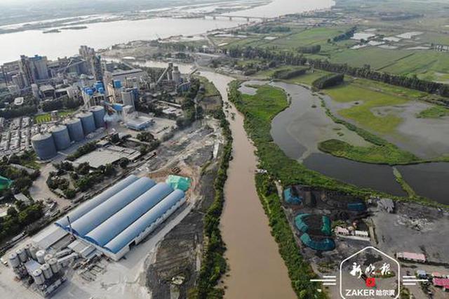 """俯瞰""""大江大河"""" 冰城今年起用无人机盯汛情旱情"""