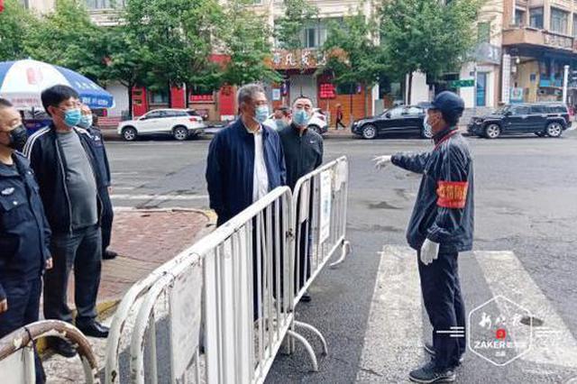 哈尔滨市公安机关加大早市疫情防控和防范管理力度
