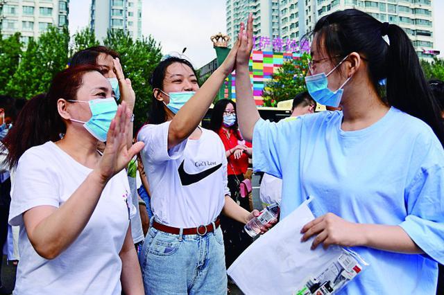 哈市4.7万名高考生赴考 多部门联防联控保高考顺利