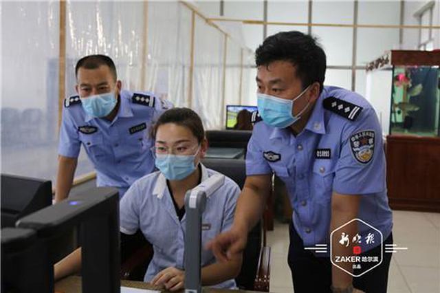 """哈尔滨市严惩检车帮人开""""后门"""":拘留4人、罚款11人"""