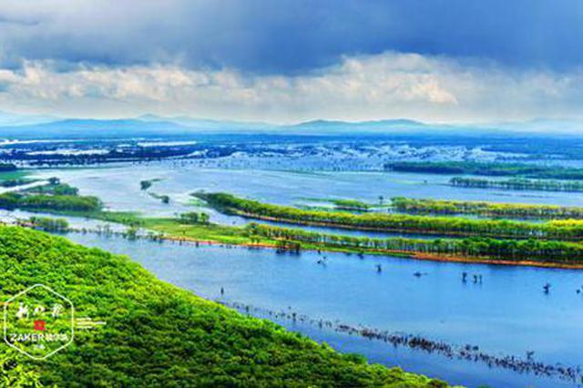 """黑龙江大美湿地""""拍了拍""""你 清凉避暑目的地藏不住了"""