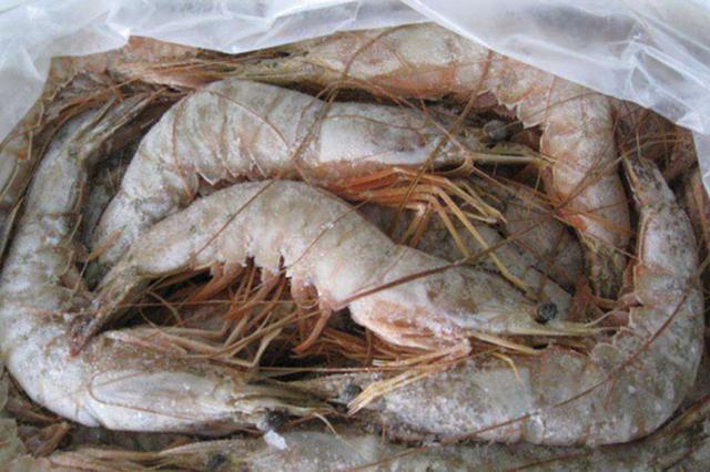 这些进口冻虾立即停售、封存、销毁 冰城下架1200多公斤