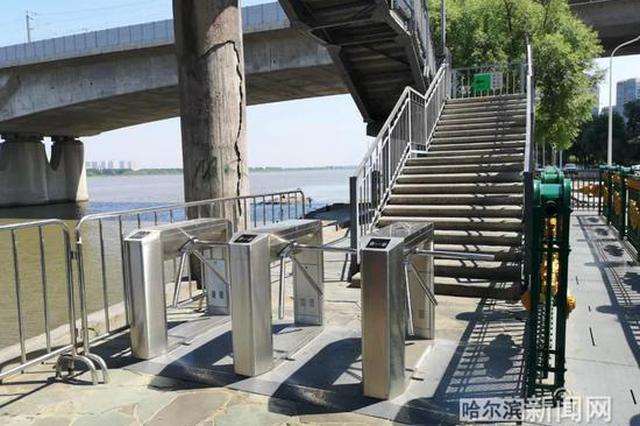 """哈尔滨""""网红桥""""上桥要过闸口了!"""