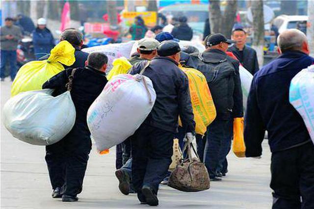 高于去年同期水平 黑龙江农民转移就业已达546.5万人