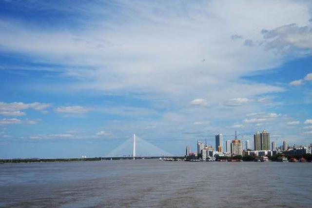 松花江干流哈尔滨段26日将现十年一遇洪峰