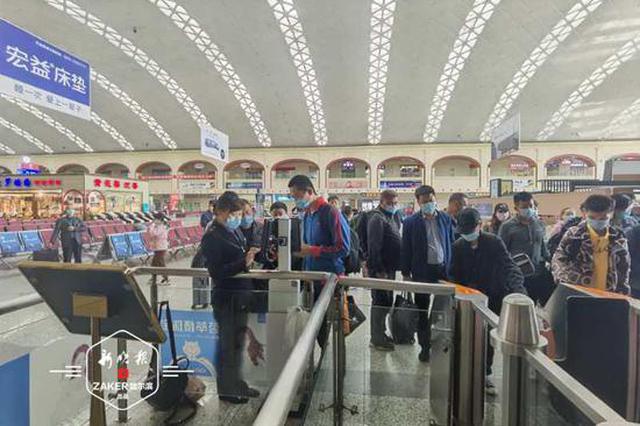 长假首日哈站预计运客6万人次 要去的热点城市是这里