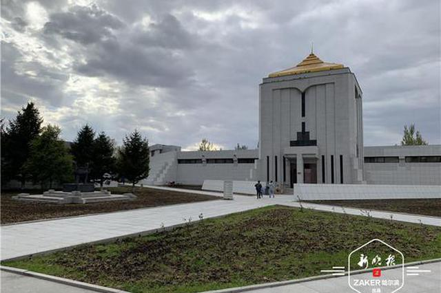 了解金源文化兴衰 金上京博物馆迎来大批游客参观
