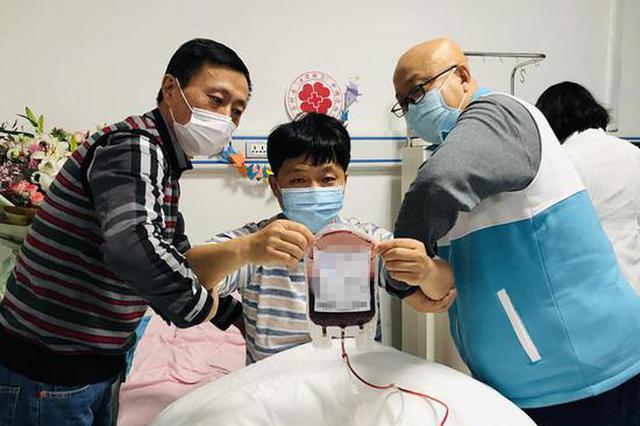 龙江农民大哥捐献造血干细胞 给山东女患者带去生希望