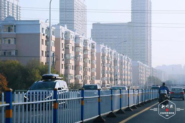 老旧小区楼体外立面改造 哈尔滨河松小区一期新装亮相
