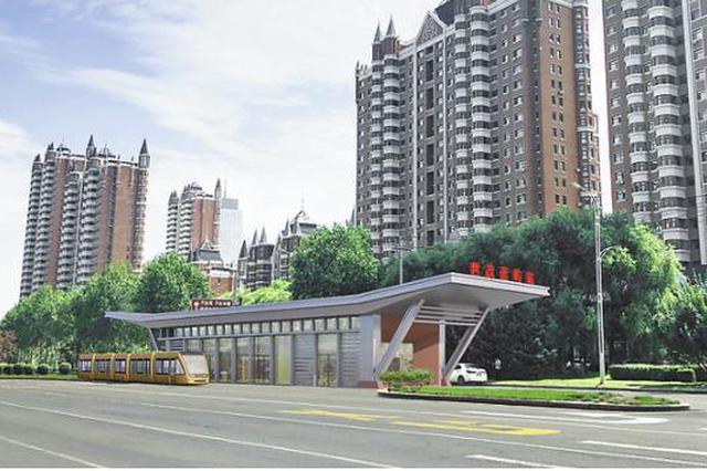 新区智能轨道快运系统1号线年底开工 明年年底竣工通车