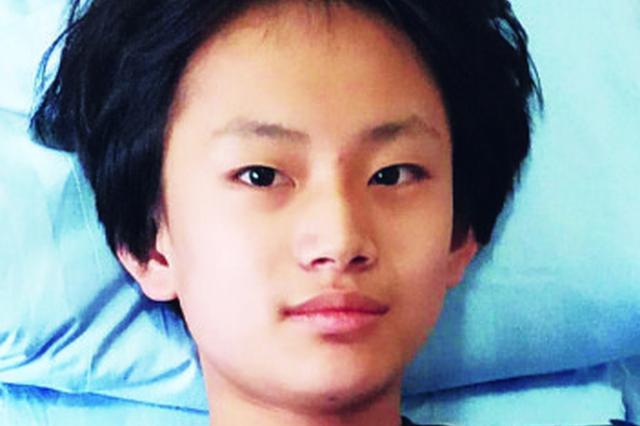 身高170cm头发比较长 齐齐哈尔14岁男孩离家一月未归