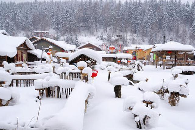 冬季到这边来看雪 黑龙江入选全国最想去的十大目