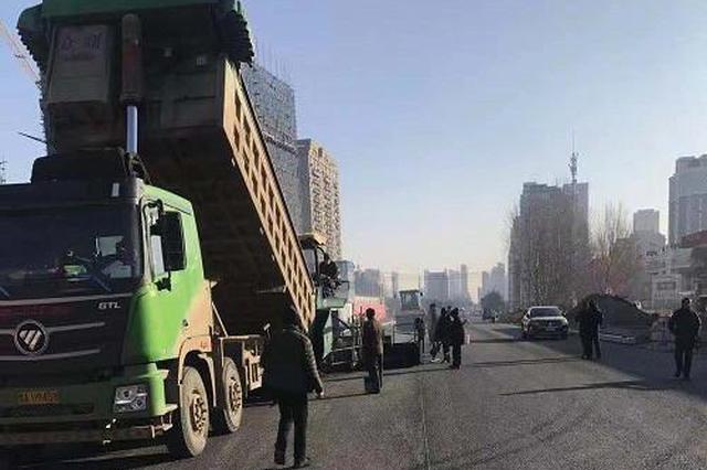 预计11月底通车世博路打通工程将缓解世茂大道交通压力