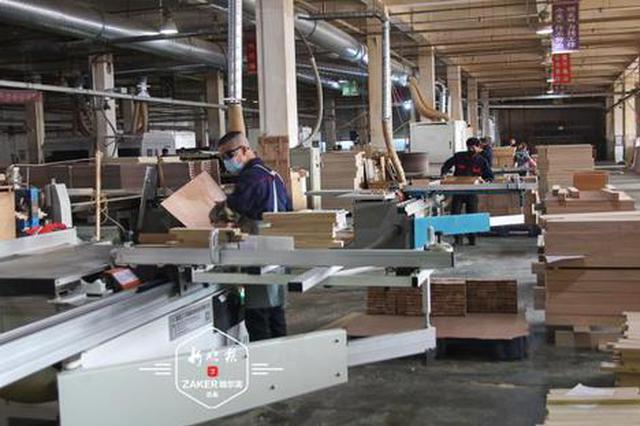 哈市家具企业提前布局海外电商 有企业订单已至明年