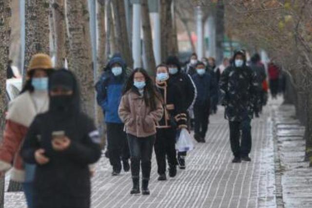 """天气不平静:被""""霾""""伏后 哈尔滨迎来一拨较强降雪"""