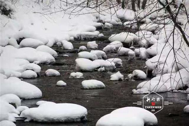"""白山黑水 """"小九寨""""真美 柴河威虎山景区冰雪景观上线"""