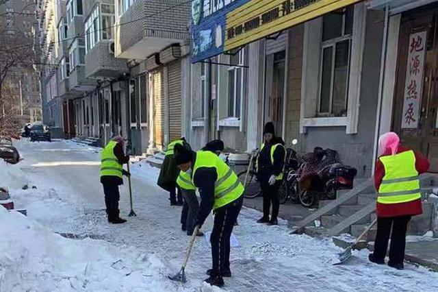 叠加型降雪影响基本消除 哈市加大背街背巷积雪外运力度