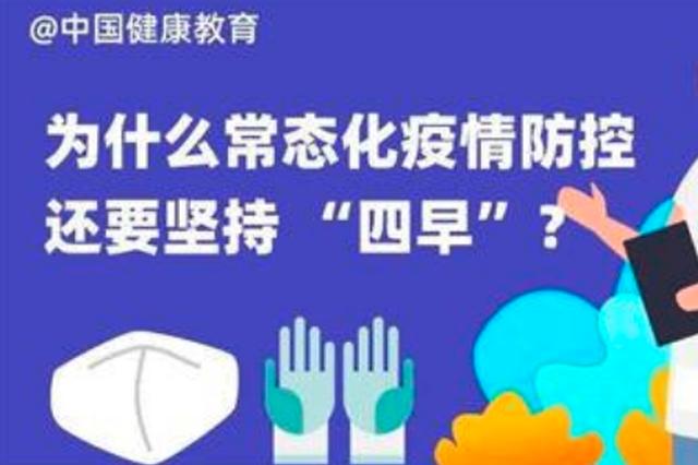 """哈市疾控中心:常态化疫情防控要坚持""""四早""""不放松"""