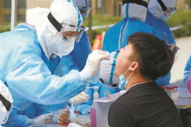 望奎县第一轮核酸检测采样结束 采集样本247904份