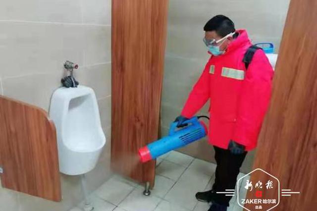 神器上阵!香坊区公厕与垃圾中转站消杀效率大提高