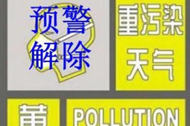 哈市解除重污染天气三级(黄色)预警