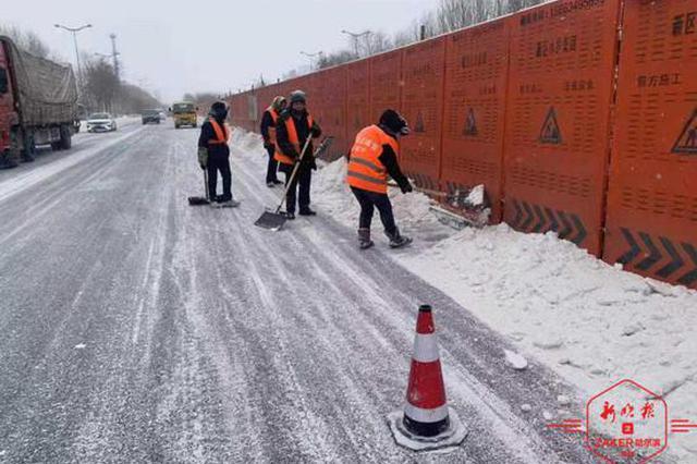 哈尔滨全市主干街路积雪 当日清理完毕
