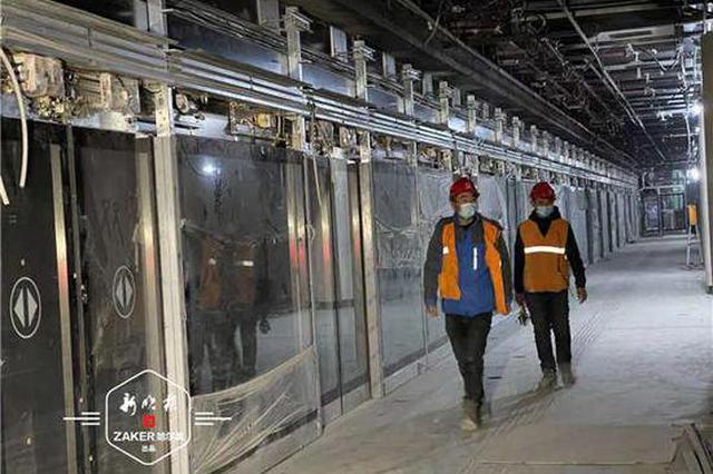 全面复工!地铁2号线19座车站设备安装已完成95%