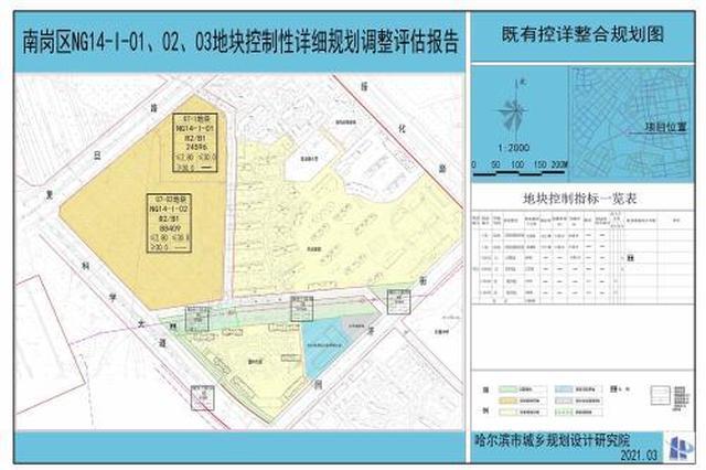 这个围合区域4处规划用地调整,其中3处为公园用地,占地2.6万