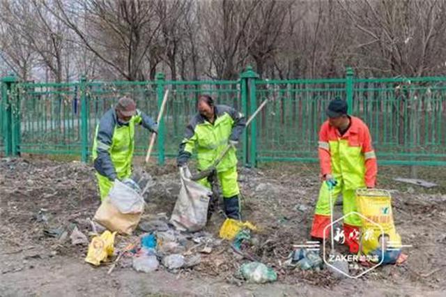 春季城乡大扫除!哈市2.8万人清理垃圾10余万吨