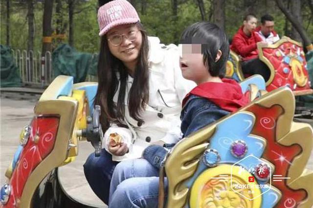 """组建""""临时家庭""""志愿者带脑瘫儿童畅游森林植物园"""