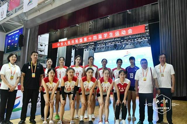 还记得《夺冠》里亮相的她们吗?哈工程女排再度刷新龙江大学