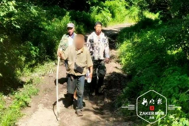 七旬老人上山密林中走失,民警顶着32℃高温苦寻3小时