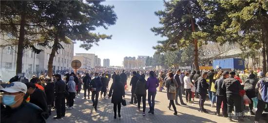 清明节当天哈市8.6万市民外出祭扫 创下今年最高峰