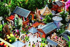 冰城老人耗时四年雕刻《红楼梦》微缩景观