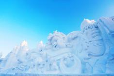 解锁哈尔滨雪人大观