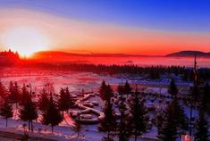 """""""小雪""""飘至阿木尔 冬日到兴安岭上来赏雪"""