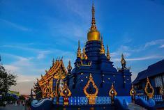 """到泰国清莱体验蓝庙的""""妖娆"""""""